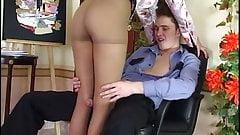 Horny russian mature seduce police officer - Helena