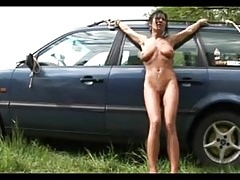 Lucy's Tits Whipping