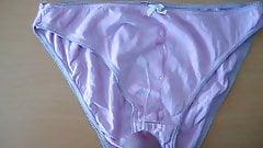 Me cum'ing on slut neighbours wife pink panties