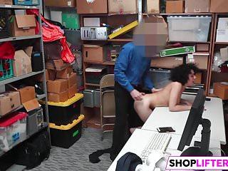 Lp Officer Pat Sexy Shoplifter Down
