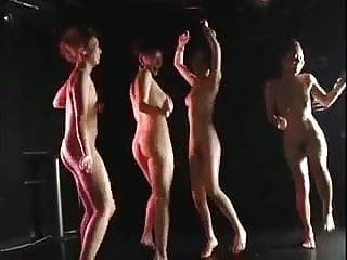 4 kinky sexy japan gogo girls ass pov dance