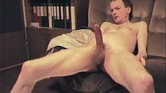 Wanking naked
