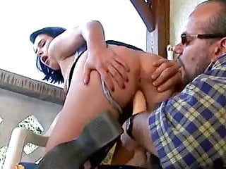 Woman pleasures herself with toys and a cock (Part 1 of 4)