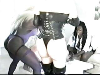 Retro Ebony Girls Femdom