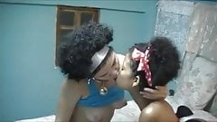 Black Power Lesbians - Kiss and Licking