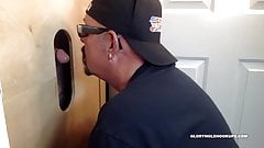Getting Gloryhole Sucked and Fucked