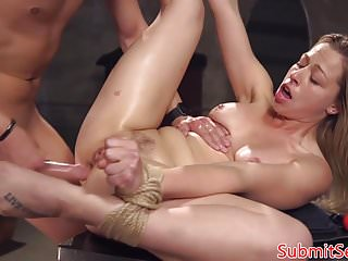 Anal fucking dom restrains sub for fucking