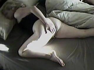 Randy early morning wank on hidden camera