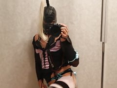 Sissy films herself to show her Lingerie (it is me)