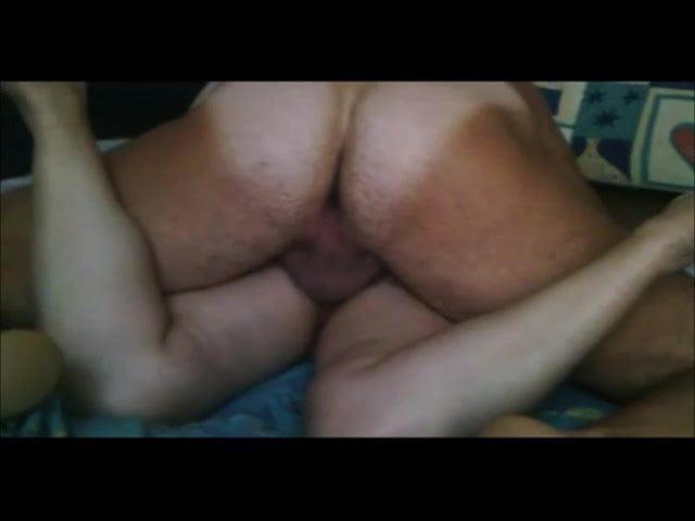 Beautiful busty girl hard anal with big dildo