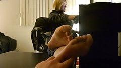 Asian Gamer Girl Feet and Soles