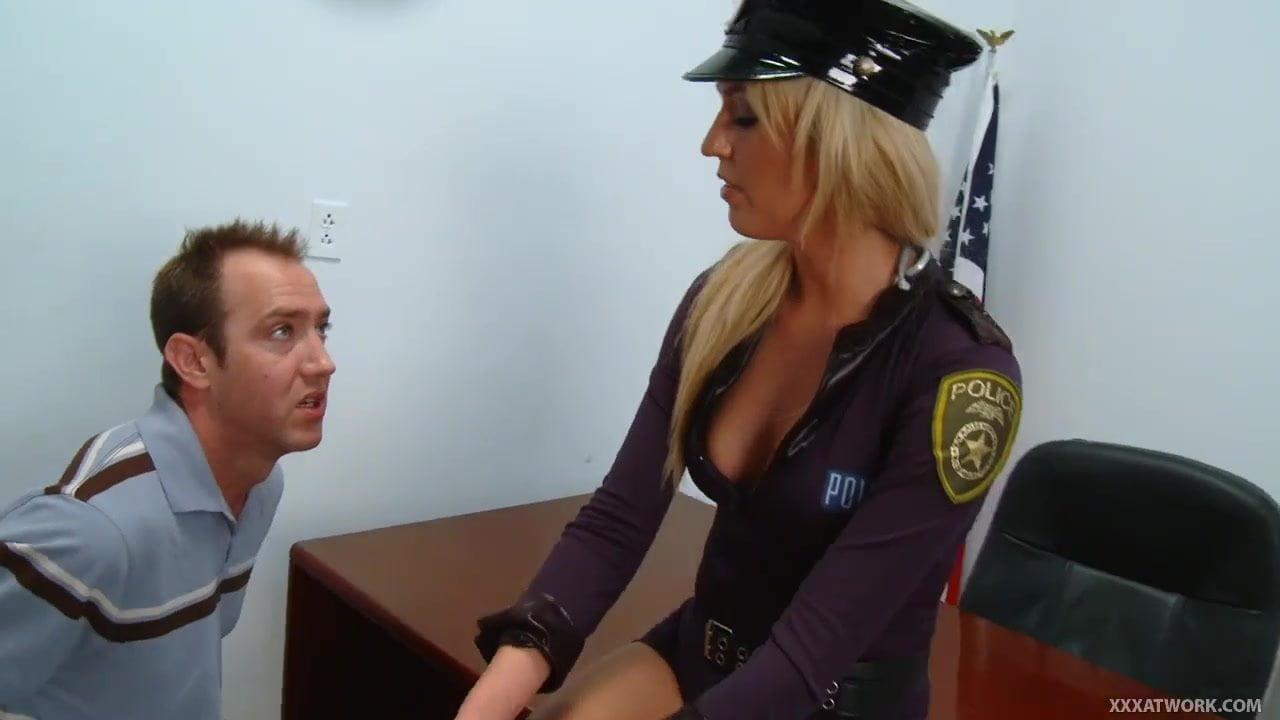 traffic police porn