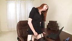 Milf im Nylon Stockings