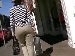 Latex butt pics - Milf wide phat butt pawg pants mod
