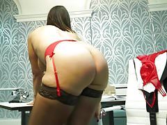 Mature MILF invites you for meeting in office