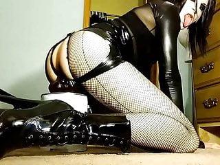Rubber Spanking Skirt (teaser)