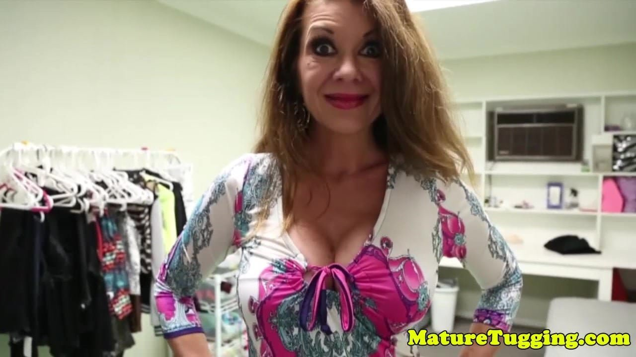 Busty Matures Tugging Hard Cock In Trio