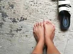 My wifes ballerina schoes
