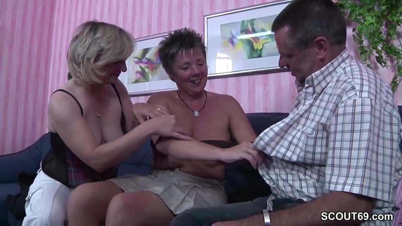 BBW und ihre Freundin strapon Sex