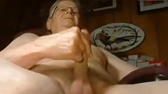 grandpa jerking off