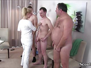 German Milf Nurse Fuck With  Stranger At Pattern