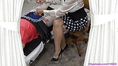 Femdom Sissy Handjob By Mistress Medical Sound