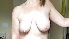 real MILF Michelle Masturbating