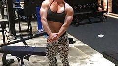 muscle mature asian woman