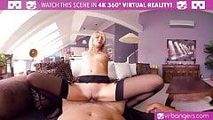 VRBangers.com - KATY ROSE LADY IN RED VR PORN
