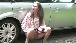 Young Sluts Pissing Outdoors Parade - Compilation