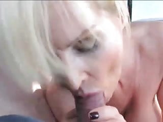 MILF lets stranger finger her in public then fucks husband