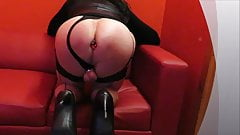 Tranny Dagmar321 presents plump ass with red diamond