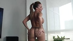 I want you to suck cock and swallow cum for me CEI