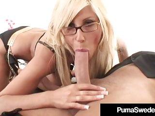 Long Legged Amazon Puma Swede Gets Pussy Fucked Hard!