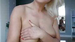 blonde girl with nice figure