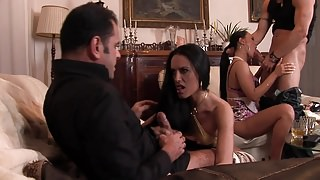 Gangsters Have Sex With Two Hot Girls
