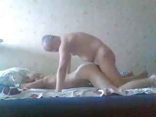 Russian Couple with older friend