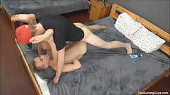 Two Sexy Gay Boys Foot Fetish Play