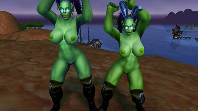 Preview 1 of Warcraft Female Orc Bitches