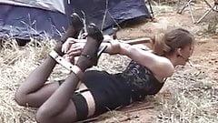 kamperen met slavin