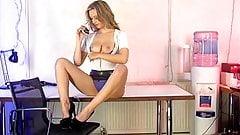 Sophia K in the S66 Office