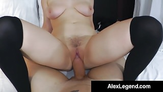 Alex Legend gets Cock Sucked By Penny Pax for Porn Audition!