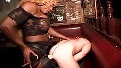 Ebony Femdom Strapon
