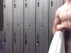 Rubbing One Out in the Locker Room