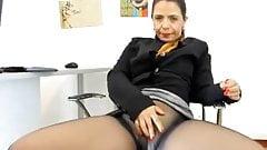 Secretary at work!