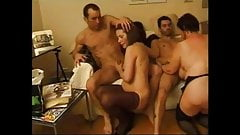 two french milfs love young cocks