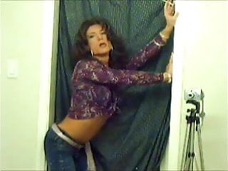 TV TS Brooke Chambers Sexy Smoking 1