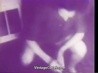 Preview 1 of Seductive Chick Fucked in Hot Positions (1940s Vintage)