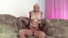 not Step-Son Seduce Milf not mother To Fuck her