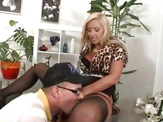 Hot European MILF wants a young dick